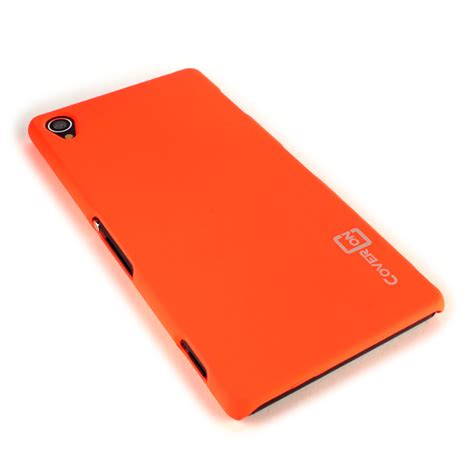 Sony Xperia Z3 Slim Matte 0 3mm Orange neon orange for sony xperia z3 slim fit