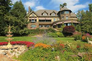 Homes With Dormers 13m Tudor Revival Mansion On Lake George Has Historic