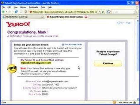 yahoo email group list taming email video tutorial 11 create group lists yahoo