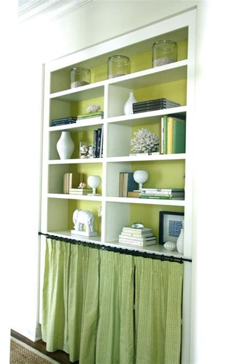 11 best ideas about bookshelves and curtains on