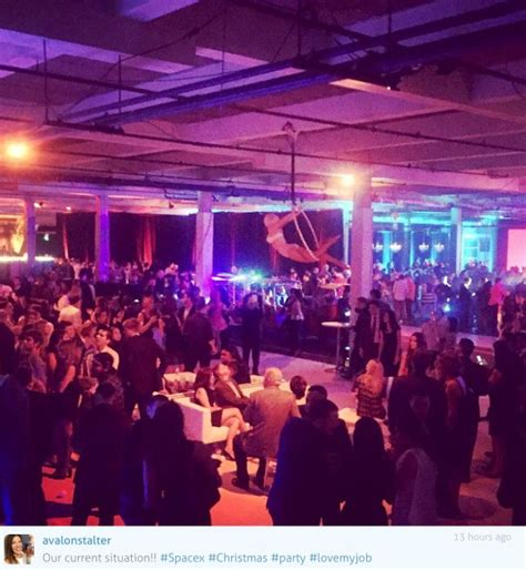 spacex hosts quot epic quot holiday party spaceflight insider