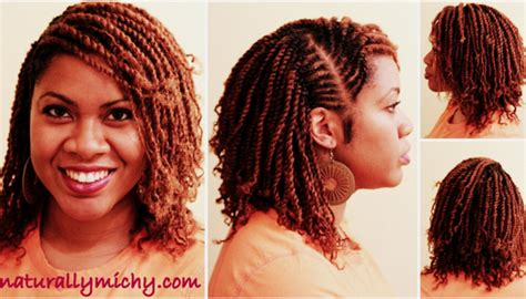 Protective Styling Season: Mini Twists   Ways to Style