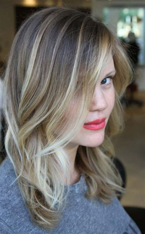 how to streak grey hair blonde 30 looks that prove balayage hair is for you blonde