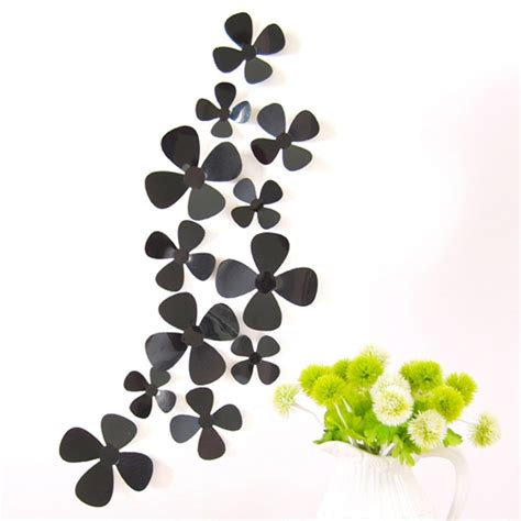 jual stiker dinding wall decal butterfly kupu bunga flower