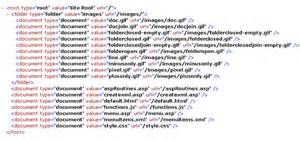 generating an xml file of your website s folders files