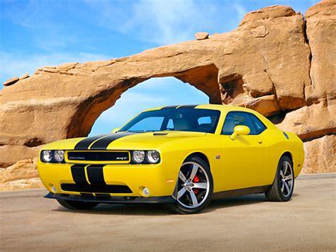 black and yellow dodge challenger srt8 car stock photos kimballstock
