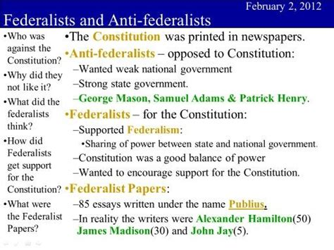 federalist and anti federalist venn diagram the world s catalog of ideas