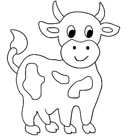 dairy cow coloring page cow printable coloring pages cute cow animal coloring