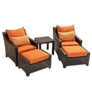 outdoor chair with ottoman chairs and ottomans