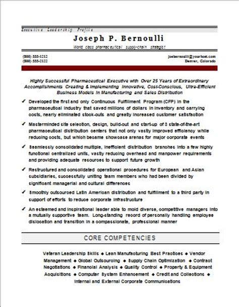 executive profiles