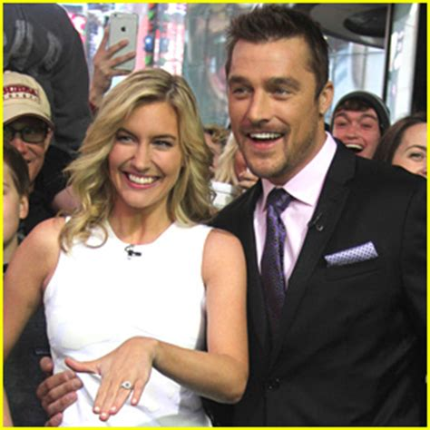 bachelor chris soules girlfriend whitney bischoff thanks jennifer aniston grabs emma stone s butt on the 2015