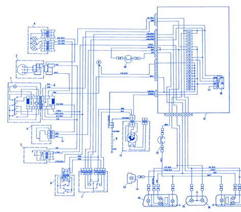 fiat x1 9 1981 stop electrical circuit wiring diagram