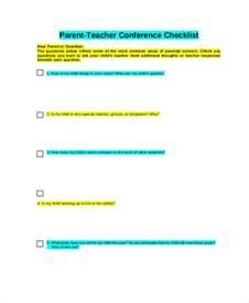 parent conference form template 9 parent conference forms free sle exle