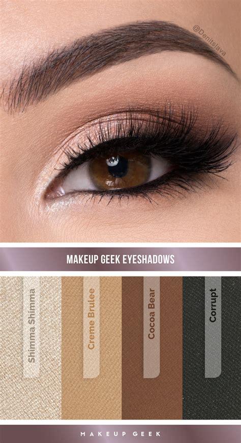 natural collection makeup tutorial natural smokey eye look by denitslava m using makeup geek