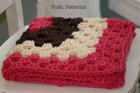 Baby Blanket Dimensions Crochet by Crochet Baby Blanket Size My Crochet