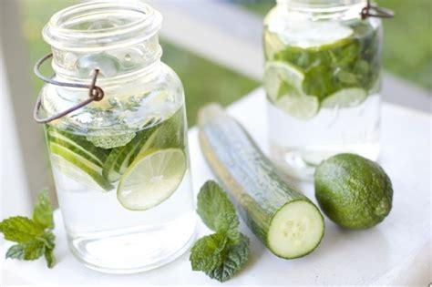 Detox Wasser Zitrone Minze by Heilfasten Diese 5 Detox Wasser Rezepte Helfen Beim