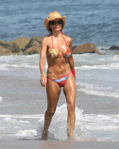 what celebs were mean to lisa rinna on celeb apprentice a look back at some celeb summer beach bodies zimbio
