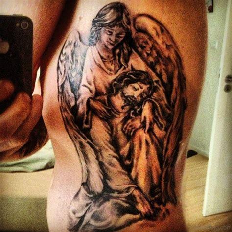 tattoo jesus angel 30 best jesus tattoos on rib