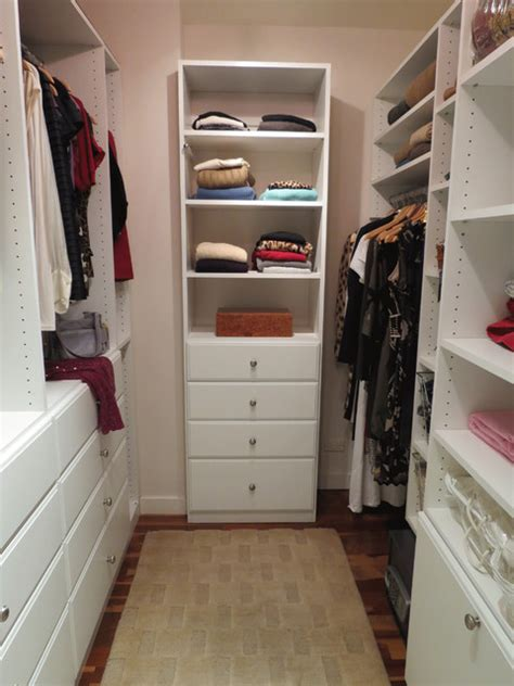Custom Closets Nyc by Custom Walk In Closet Traditional Closet New York By Gotham Closets