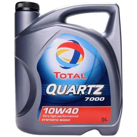 Oli Total Quartz 7000 10w40 total quartz 7000 engine 10w 40 sibbons