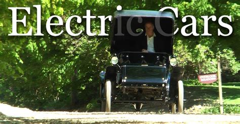 invention of the motor car history of electric cars