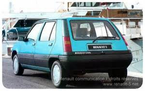 Renault 5 Diesel All About Renault 5 The Supercinq