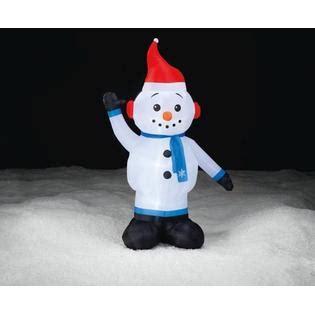 trim a home outdoor christmas decorations trim a home 174 7ft inflatable snowman outdoor christmas