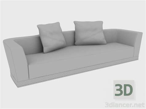 divani 3d 3d modella divano welles divano 332x125xh74 dal