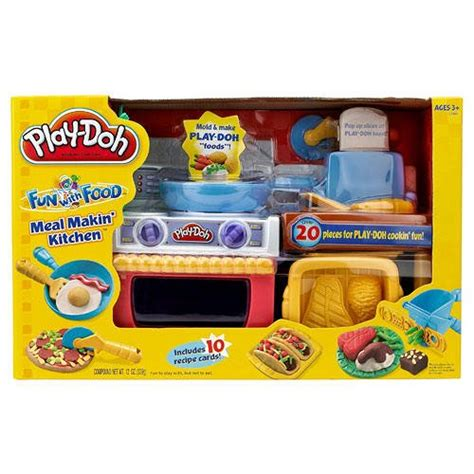 Play Doh Kitchen Set by Play Doh Meal Makin Kitchen Play Set Dough Cook