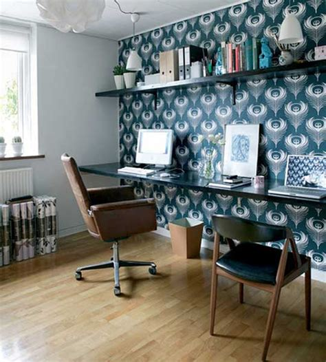 home office wallpaper inspire bohemia home offices craft rooms part i