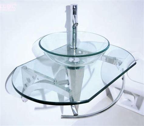 Arca Transparent Gloss Green Wb By glass vanity units bathroom my web value