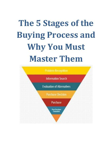 house buying stages the 5 stages of the buying process and why you must master them