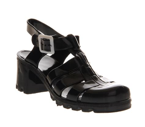 Jelly Shoes Sale 10 juju hi jelly shoes black sandals