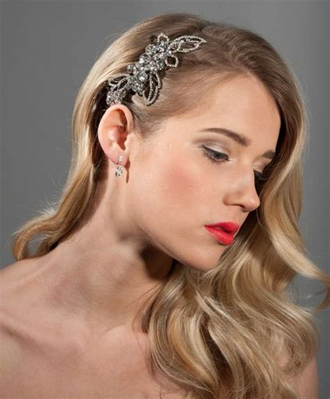 vintage bridal hair ideas picture of stunning vintage waves bridal hair ideas