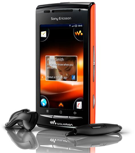 Hp Android Sony Ericsson Live With Walkman sony ericsson w8 walkman phone platform android touch screen android multimedia support