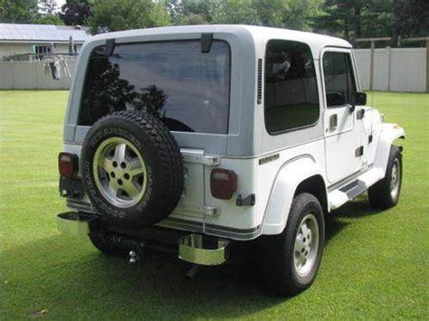 Jeep Wrangler Laredo Sell Used 1989 Jeep Wrangler Laredo Sport Utility 2 Door 4