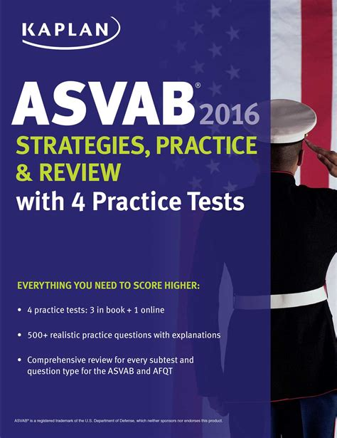 kaplan test kaplan asvab 2016 strategies practice and review with 4