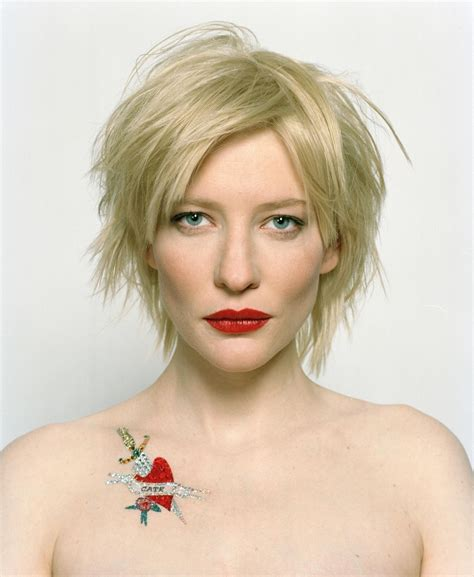 Get The Look Cate Blanchetts Feathered Tresses 2 by Cate Blanchett Sums Up Every Award Show With One