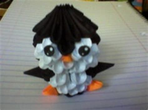 3d origami penguin tutorial by spkmw on deviantart 3d origami penguin by malakanakar on deviantart