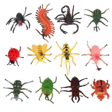 speelgoed insecten 12pcs plastic bugs creepy crawly animals party bag fillers