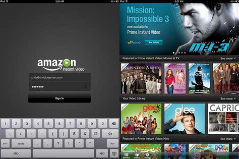 amazon movie hands on amazon instant video on ipad sorely lacks