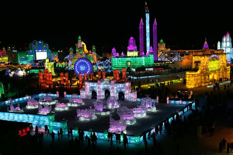 harbin ice festival harbin s ice and snow festival never fails to amaze kids