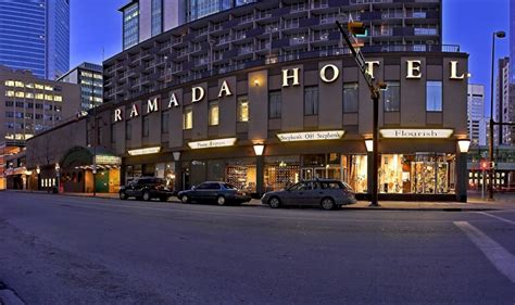 ramada hotel downtown calgary calgary canadian affair