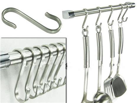Kitchen Bar Hooks 2017 Powerful Silver S Shape Hook 304 Stainless Steel