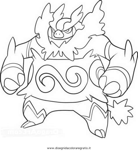 pokemon coloring pages emboar pokemon emboar images pokemon images