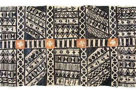 fijian pattern meaning fiji tapa cloth pigment mulberry bark c 1900 quilter
