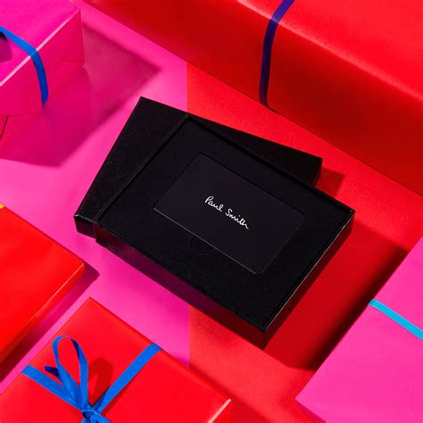 Smiths Gift Card Balance - gift vouchers paul smith