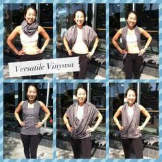7 Ways To Dress Up Your by 1000 Images About Vinyasa Scarf Lululemon On