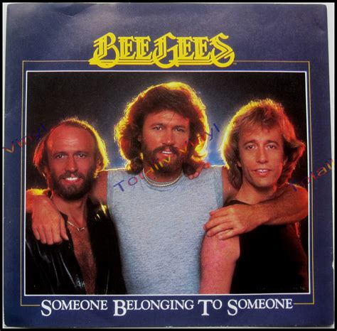 bee gees to somebody totally vinyl records bee gees someone belonging to
