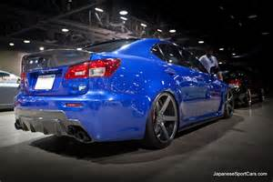 2009 tuned lexus is f with toms aero kit and vossen cv3